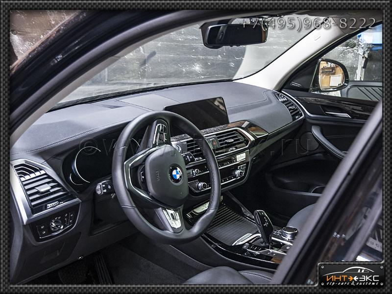 BMW X3 G01 круговой обзор и сабвуфер Стелс 1..jpg
