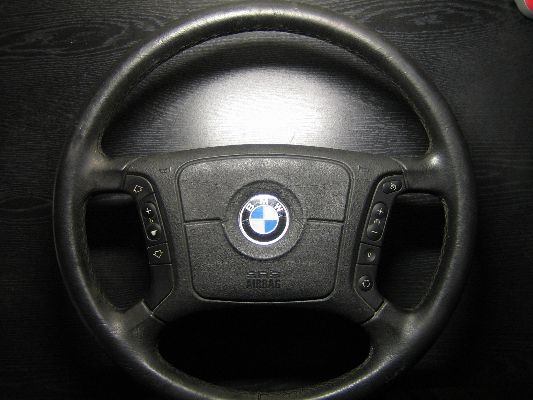 если менять руль на руль с кнопками будут работать bmw 7