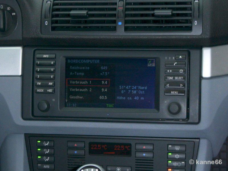 BMW e39 Navi 16:9G