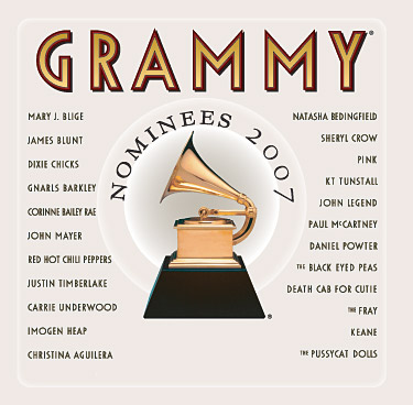 (PopMusic) VA - 2007 Grammy Nominees - 2007, FLAC (image + .cue), lossless