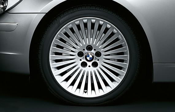 BMW E38 Club - комплект летней резины на 65 кузов продам - Москва