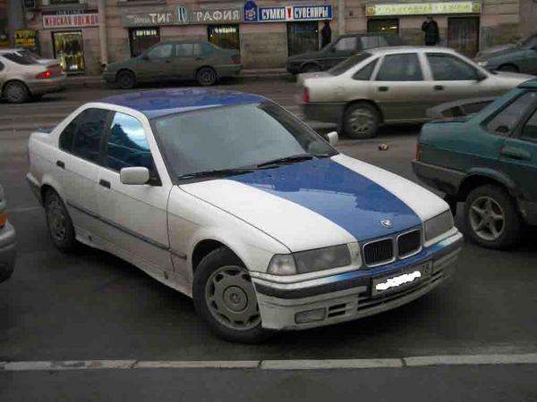 Понравилась боевая раскраска - Е36 естессно)) - BMW 3ER ...