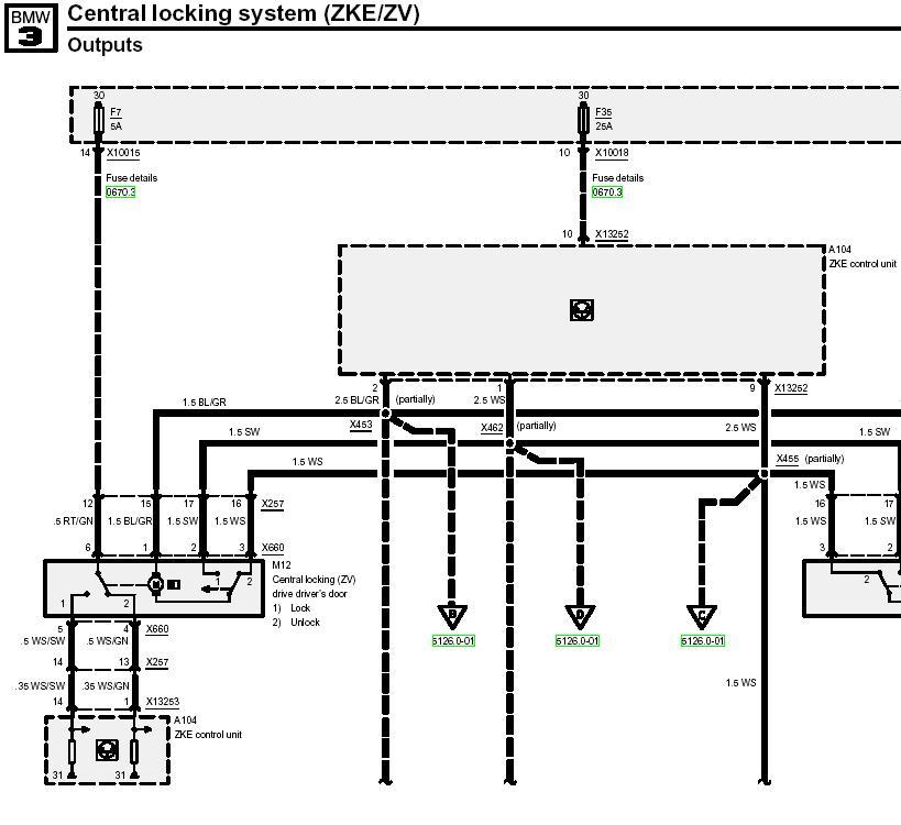 Схема подключения сигнализации bmw