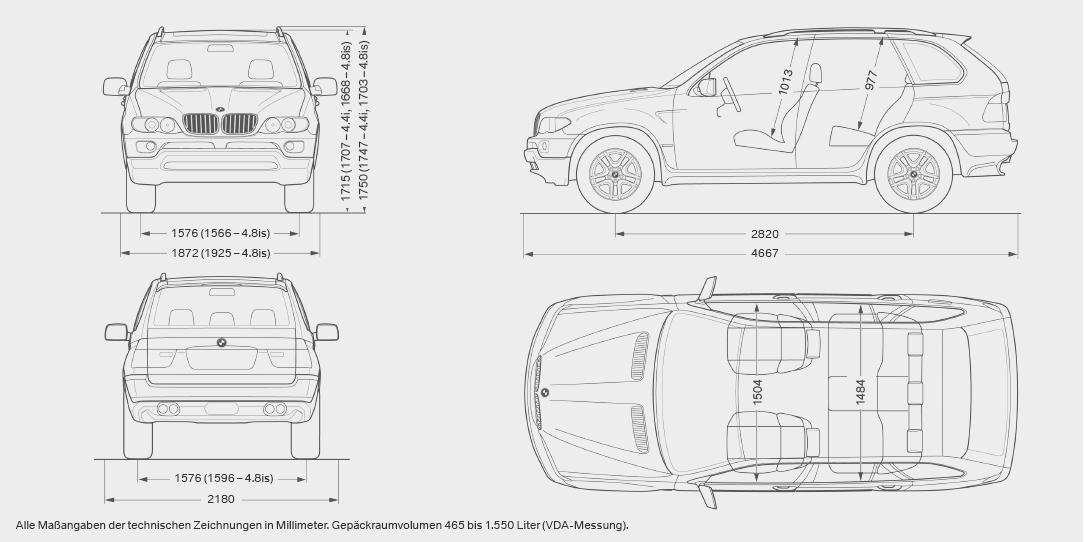 Схема кузова бмв х5 е70