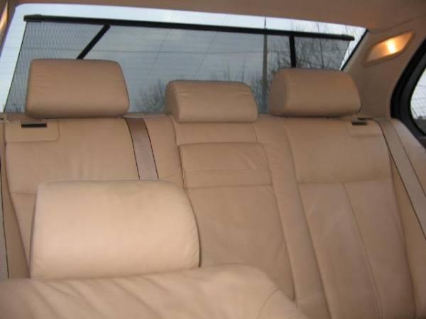BMW 523i шторка, бежевая кожа, фот…